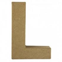 Letter Papiermache L 10,5x3x15cm