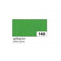 Crêpepapier 2,5M x 50cm Folia Groen