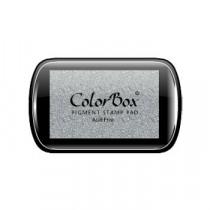 Inktkussen Colorbox Zilver Metallic 63x100mm