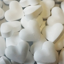Suikersnoep Wit Hartjes 850g