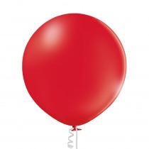 Ballon Metallic Uni 60cm Rood