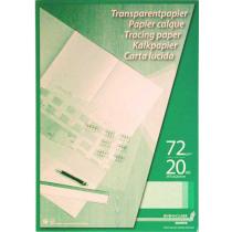 Kalkpapier 70G Ca220 A2 20Bl