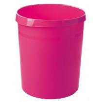Han Papierbak Grip 18L.+2 Grijpranden Roze Trend Colour