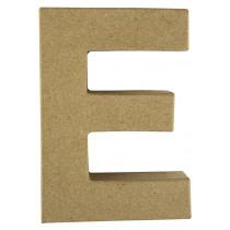 Letter Papiermache E 10,5x3x15cm