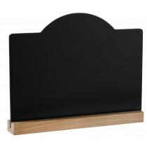 Krijtbord 20x15cm Wit Hout