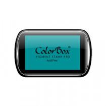 Inktkussen Colorbox Turquoise 63x100mm