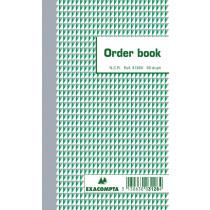 Orderbooks Ncr 175X105Mm Exacompta 3128 Dupli2X50 Gelijnd