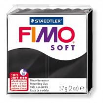FIMO Soft Boetseerklei Zwart