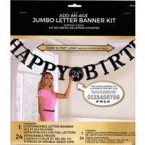 Letterslinger Sparkling Celebrations Happy Birthday 3,2m x 25cm