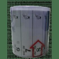 Lintkalender + Notitieruimte 66x7,5cm In Doos Pok