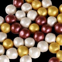 Chocochoops 125g Wit/Goud/Bordeaux