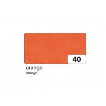 Zijdepapier 50x70cm Folia Oranje 26 Vellen