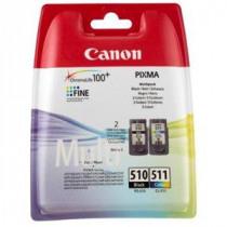 Canon Inktcartridge Zwart + Tricolor Pg510 + Cl511