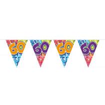 Vlaggenlijn Birthday Blocks 60 Jaar 6m