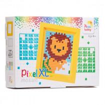 Pixelhobby XL Geschenkset Pixel Leeuw
