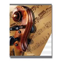 Muziekschrift 210X165Mm 20Bl