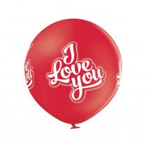 Ballon grand Rouge 60cm Diamètre