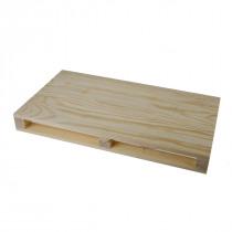 Pallet 35x19,6x3,5cm Hout