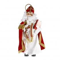Sinterklaas 53cm Rood