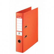 ESSELTE ORANJE A4 75MM VIVIDA PVC