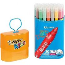 Bic Kid Couleur Durable Pack 20 Stuks
