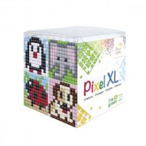 Pixelhobby XL Kubus Pixel Dieren