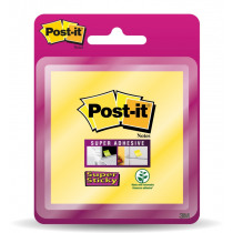 Post-It Notes 76x76mm Geel Super Sticky