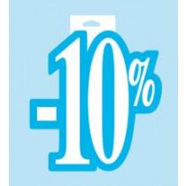 Affiche Karton 20x24cm 10%