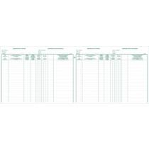 Register 320X240Mm Exacompta Aandeelhouders Bvba 100B 2-Talig