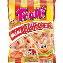 Snoepjes Mini Burgers 170g Individueel Verpakt