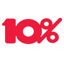Signalisatie Roze 10%