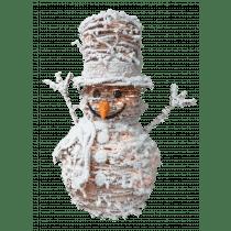 Sneeuwman 50cm Wit Met 35 Leds