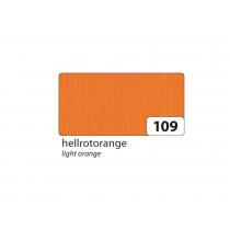 Crêpepapier 2,5M x 50cm Folia Oranje