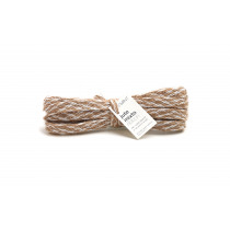 Lint Jute Mixto 4mx10mm Wit/Beige