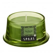 Spaas Geurkaars In Glas Voor Shade Groen Heart Warming 15u