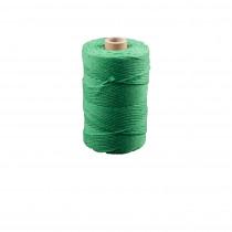 Koord Katoen groen 200g Unicolore +-140m/Rol