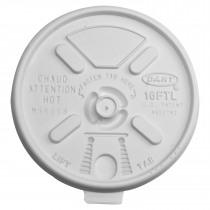 Deksel Schuimbeker Dart 93mm Diameter Lift&Lock Voor 400ml 16Ftl 100 Stuks