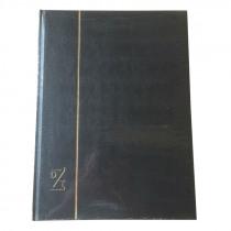 Postzegelalbum 23x30,5cm A4 32 Bladzijden Zwart