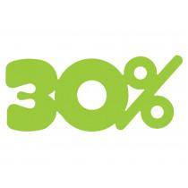 Signalisatie Groen 30%