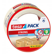 Tesa Packaging 66mx50mm Strong Transparant
