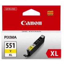 Canon Inktcartridge Geel Cli-551xl