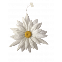 Hangdeco Bloem Wit 43cm Diameter Papier