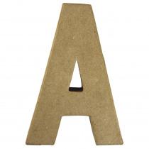 Letter Papiermache A 10,5x3x15cm