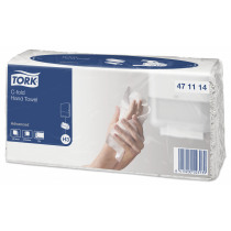 Handdoek Tork Adv C Wit C&C 27,5X24Cm 20X120 120 Stuks