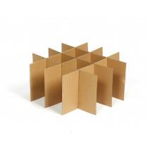 Verhuisdoos 4x4 Vakverdeling Breekbaar/Glazen