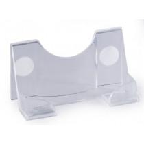 Visitekaarthoud. Durable Acryl Transparant