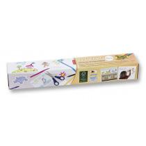 Tekenpapier Op Rol 6m x 30cm Folia Blanco / Zelfklevend