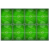 TAFELKLEED PLASTIC 120x180cm FOOTBALL PARTY