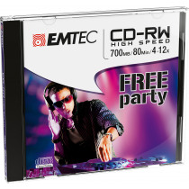 Cd-Rw Jewel Case 5 Pack - 80Min 700Mb