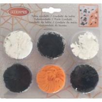 Confetti Wit/Zwart/Oranje